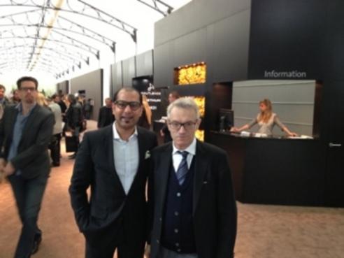Helmut Crott & Tariq Malik